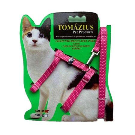 Peitoral com Guia para Gatos n02