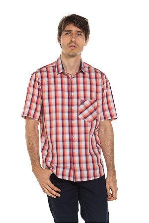 Camisa manga curta Xad - Flamingo