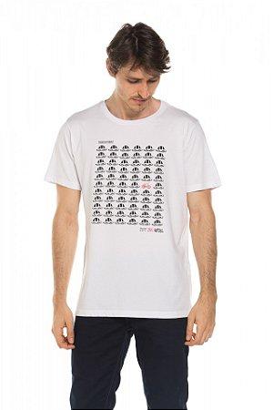 Camiseta Think Different - Branca
