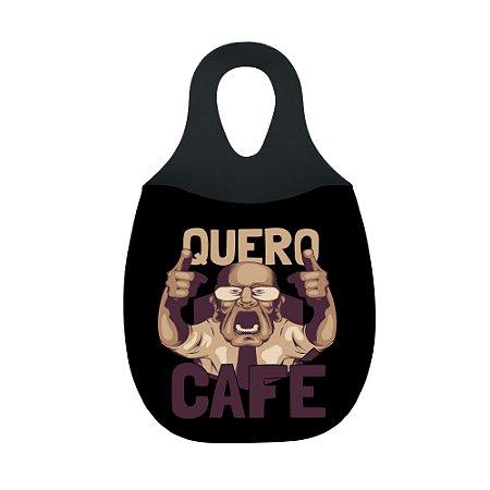 LIXEIRA DE CARRO EM NEOPRENE - Quero Café