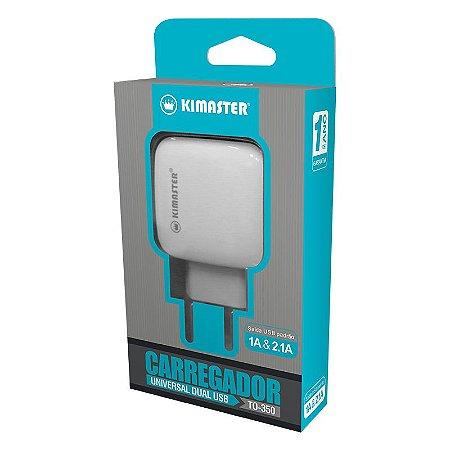 CARREGADOR USB DUAS ENTRADAS