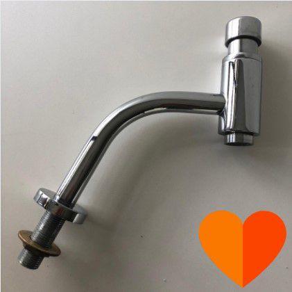 Torneira para lavatório Link 1172C temporizada cromada - Deca (Disponibilidade: 12 Peças)