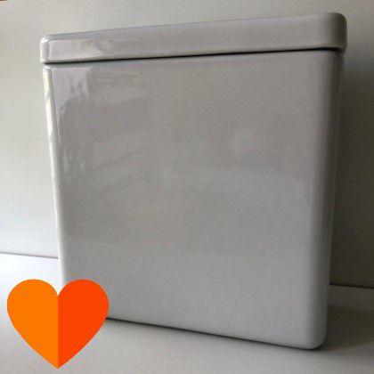 Caixa Acoplada Dual Flux (3 E 6 Litros) Quadra-Piano-Axis-Unic-Polo - Deca (Disponibilidade: 100 Peças)
