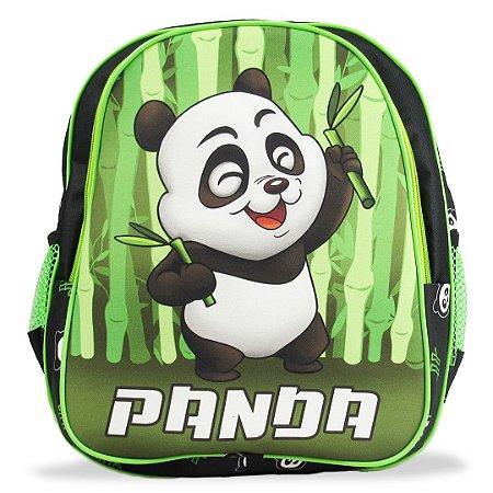 Mochila Escolar Infantil de Costas Panda Tam M