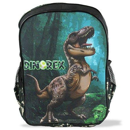 Mochila Escolar Infantil  de Costas Tamanho G Dino-Rex
