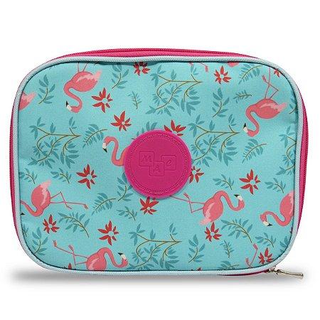 Estojo 100 Pens Flamingos c/ 30 Elásticos Para organizar