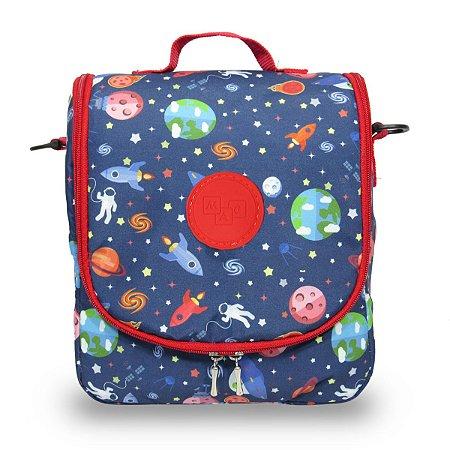 Lancheira Escolar Infantil Grande Galaxia