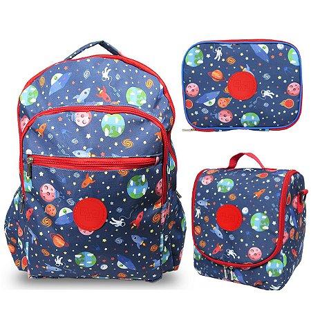 Kit Escolar Infantil Grande Galaxia