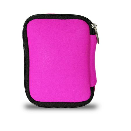 Capa Protetora Case Hd Externo Usb - Rosa