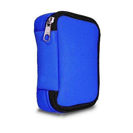 Capa Protetora Case Hd Externo Usb - Azul