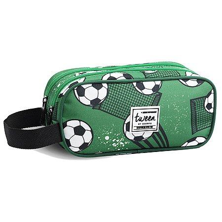 Estojo Infantil Seanite Futebol Jacaré e Gatos