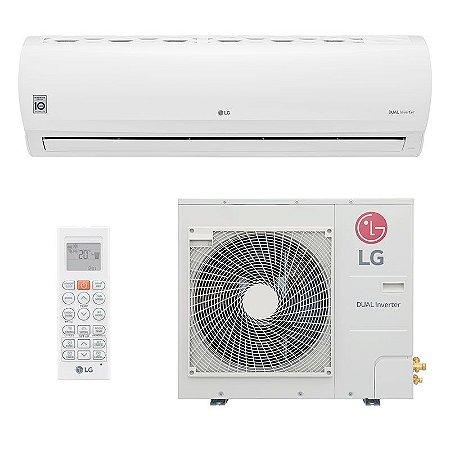 Ar Condicionado LG Split DUAL Inverter Power 31.000 BTUs - Quente/Frio