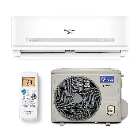 Ar Condicionado Springer Midea Split Inverter 33.000 BTUs - Quente/Frio