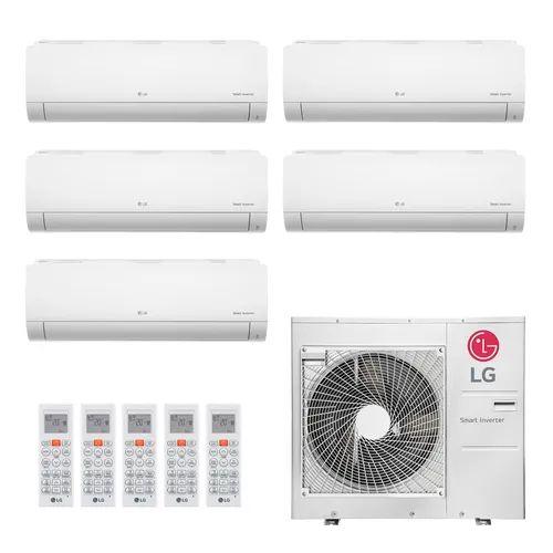 Ar Condicionado LG Multi Split Inverter 36.000 BTUs  com 04 evap HW 8.500 BTUs e 01 evap HW 11.900 - Quente/Frio