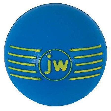 Brinquedo de cachorro Bola com Apito iSqueak Ball M Azul
