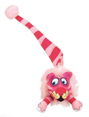 Brinquedo de Gato FatCat com Catnip Leão Tailchasers Rosa