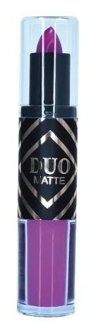 Batom Duo Matte Rosa Chiclete 173 - Ruby Rose