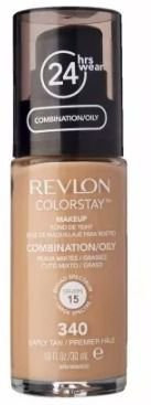 Base Revlon Colorstay 24 Horas Early Tan 340 Pele Mista/oleo