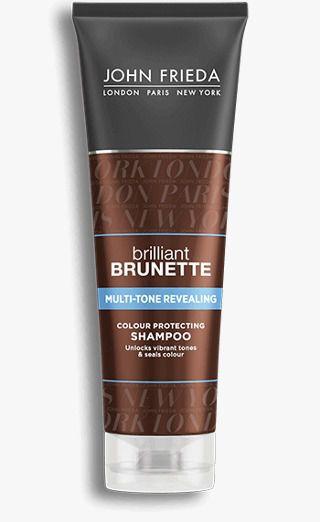 John Frieda Shampoo 250ml BRILLIANT BRUNETTE Multi-Tone Revealing Moisturizing