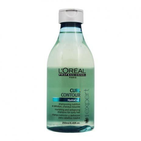Shampoo de Nutrição Curl Contour para Cabelos Cacheados 250ml - LOréal Professionnel