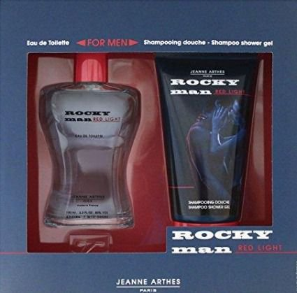 Rocky man RED LIGHT FOR MEN 100ml + shampoo Jeanne Arthes