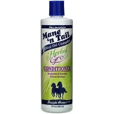 Mane 'n Tail, Condicionador Herbal Gro, 12 fl oz (355 ml)
