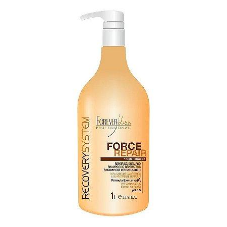 Shampoo Reparador Force Repair Forever Liss 1 litro