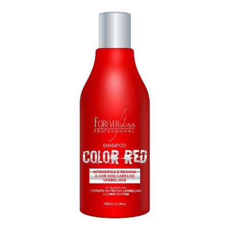 Shampoo Color Red Forever Liss 300ml