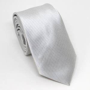Gravata Prata / Cinza