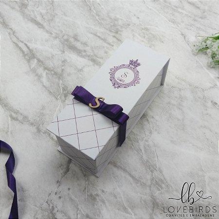 Caixa Convite 15 anos 7x23x7 - Coleção Bailarina