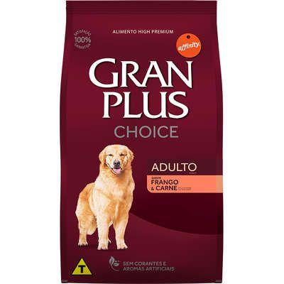 Ração Granplus Choice Cão Adulto Frango e Carne