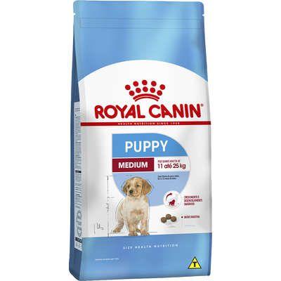 Clique para visualizar o vídeo Ração Royal Canin Medium Junior para Cães Filhotes de Raças Médias de 2 a 12 Meses de Idade