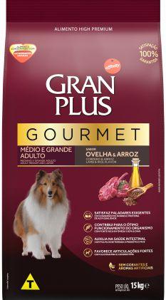 Granplus Gourmet Cão Adulto Médio e Grande Porte