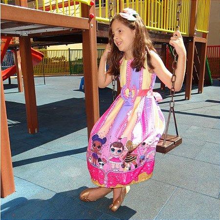 Vestido Lol de Luxo