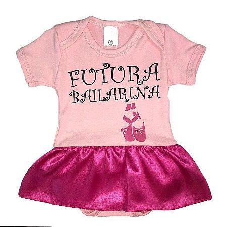 Bodys temáticos para recém nascidos, Futura Bailarinha, Pretinho Básico, Abelhinha, Cinderela, Galinha Pintadinha