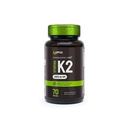 Vitamina K2 - 70 cápsulas