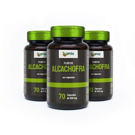 Kit 3x Alcachofra - 70 cápsulas