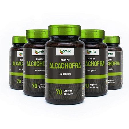 Kit 5x Alcachofra - 70 cápsulas