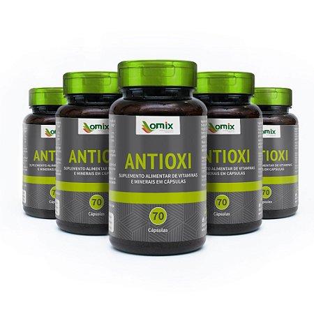 Kit 5x Antioxi - 70 cápsulas