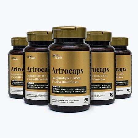 Kit 5x Artrocaps - 60 cápsulas