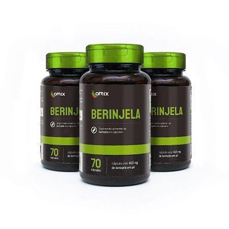 Kit 3x Vitamina B6 - 70 cápsulas