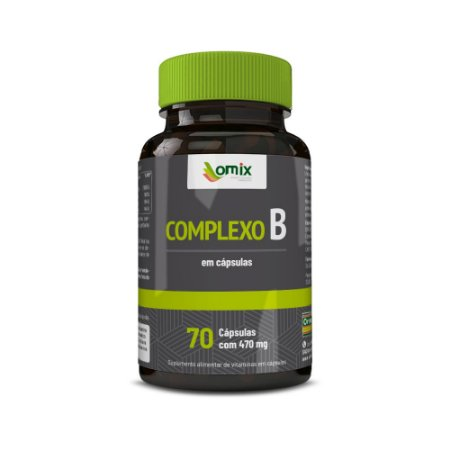 Complexo B - 70 cápsulas