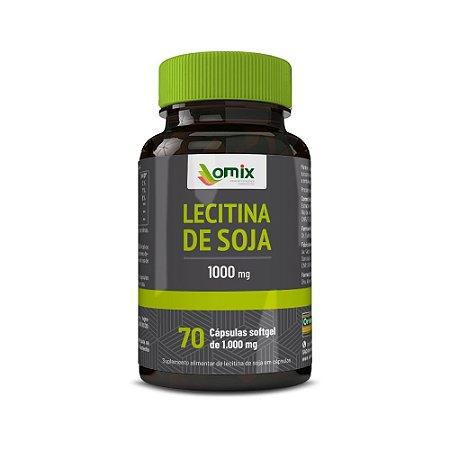 Lecitina de Soja (1 g) - 70 cápsulas