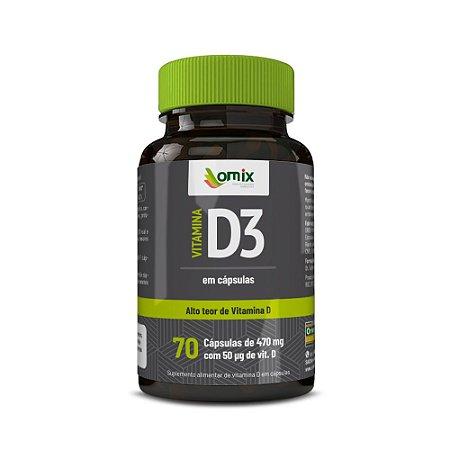 Vitamina D3 - 70 cápsulas