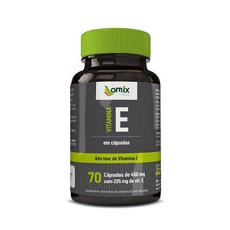 Vitamina E - 70 cápsulas