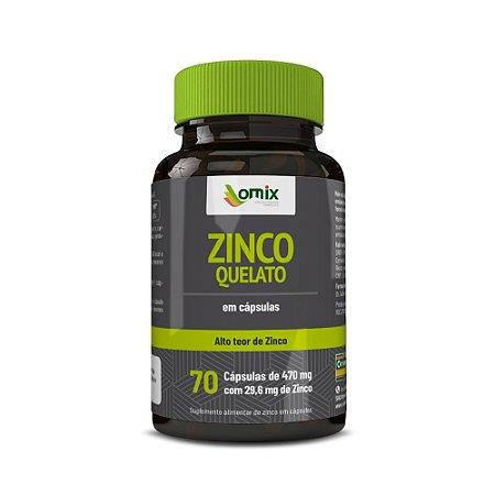 Zinco Quelado - 70 cápsulas