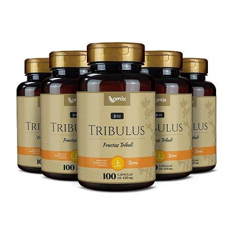 Kit 5x Tribulus (Ji Li) - 100 cápsulas