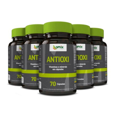 Kit 5x Antioxi - 70 cápsulas