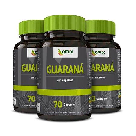Kit 3x Guaraná - 70 cápsulas