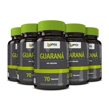 Kit 5x Guaraná - 70 cápsulas
